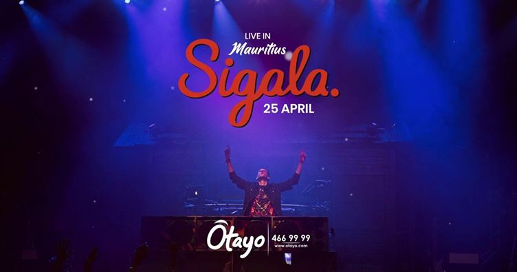 Sigala Live in Mauritius