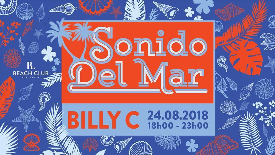 Sonido del Mar - Billy C at R Beach Club 24 Aug