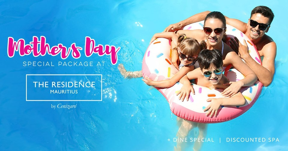 Special Mother's Day Package at The Residence Mauritius