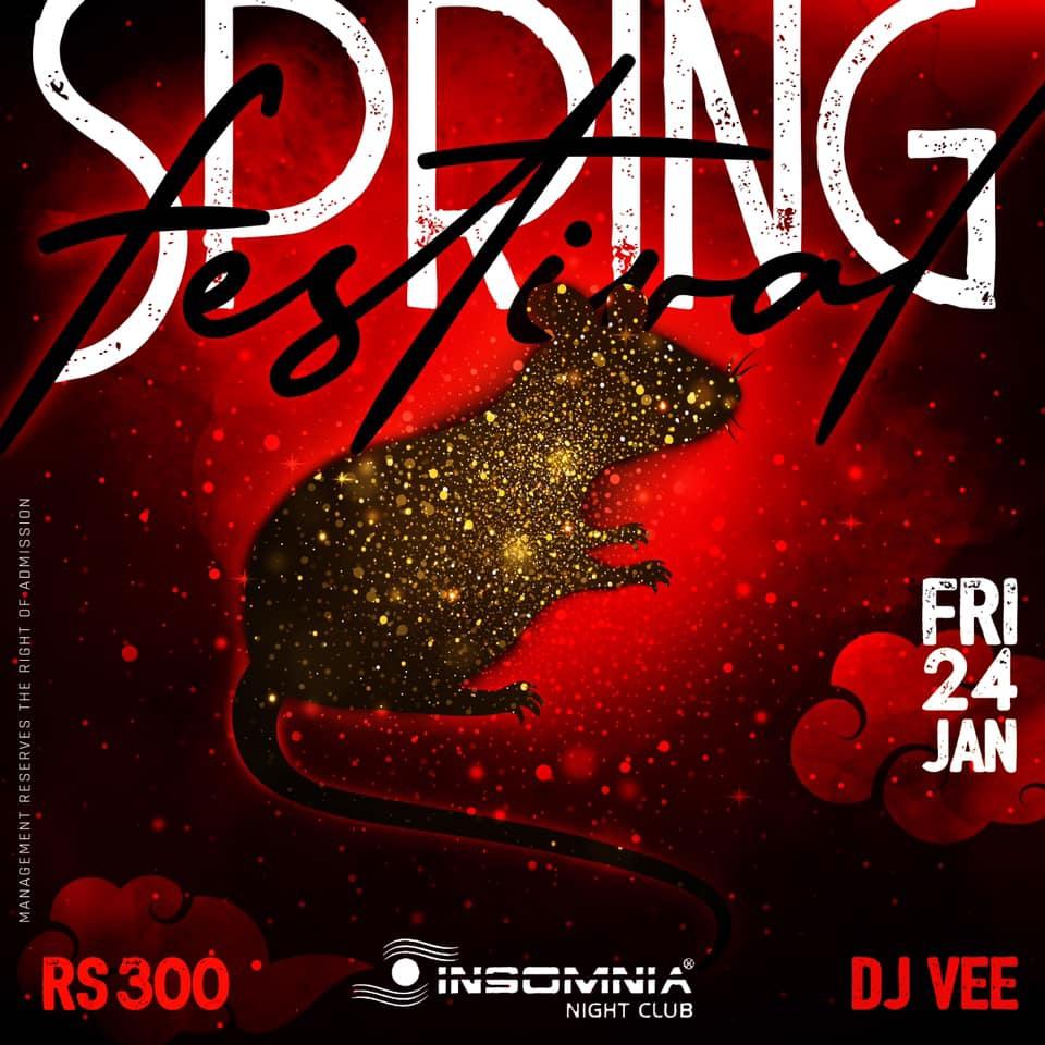 Spring Festival 2k20 At Insomnia