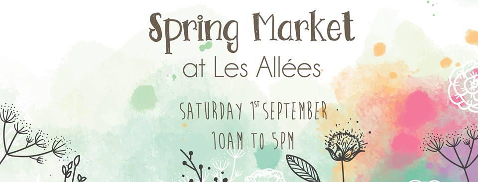 Spring Market at Les Allées