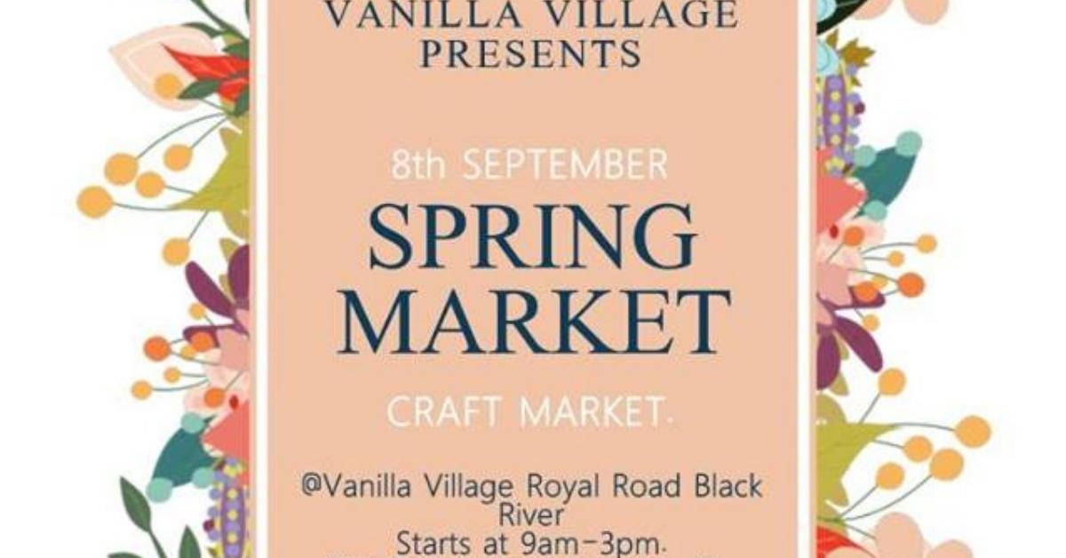 Spring Market at Vanilla Village