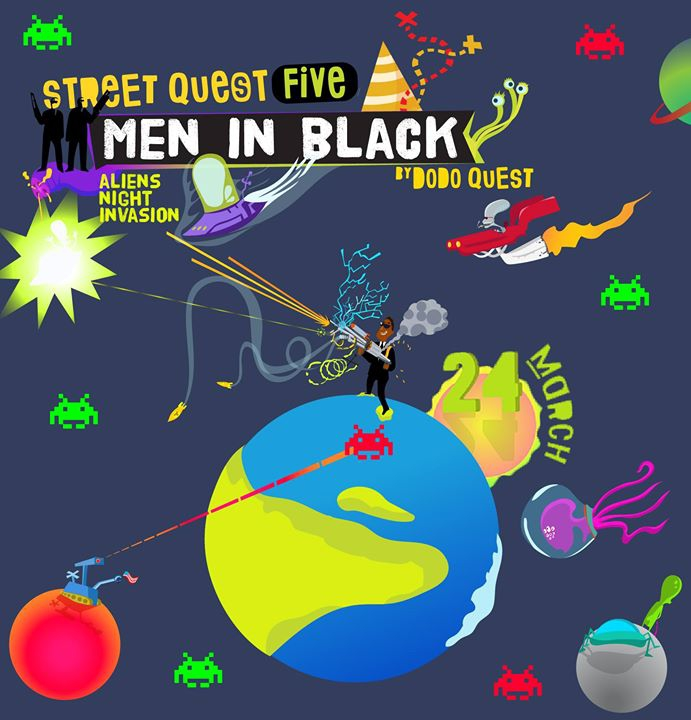 Street Quest 5 - Men in black