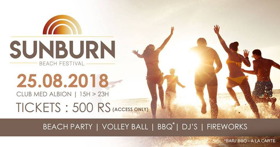 Sunburn Beach Festival at CLUB MED