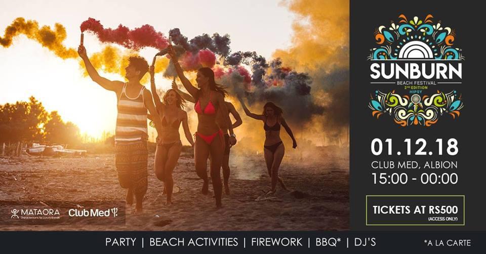 Sunburn Beach Festival at Club Med Albion