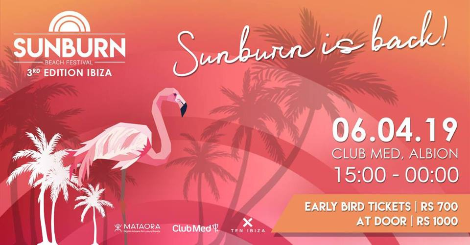 Sunburn Beach Festival III - Edition Ibiza