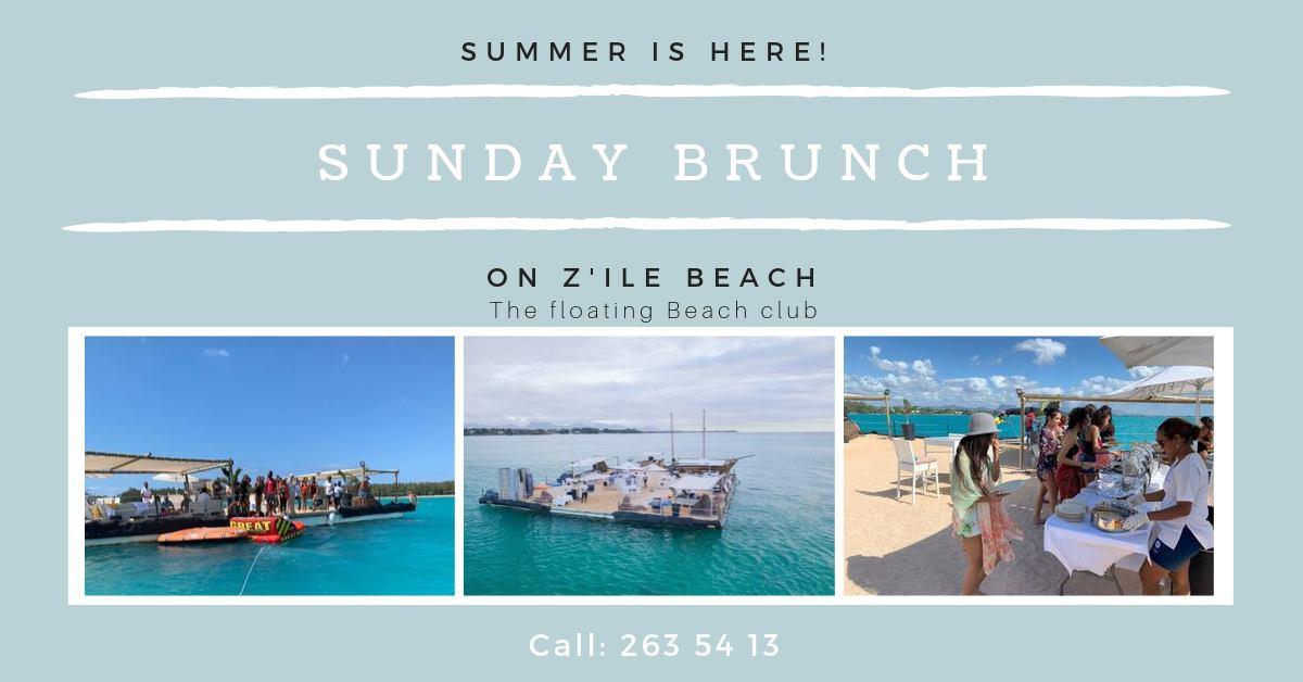 Sunday Brunch on Z'ile Beach