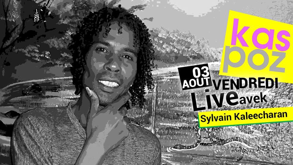 Sylvain Kaleecharan at Kas Poz for Friday Live