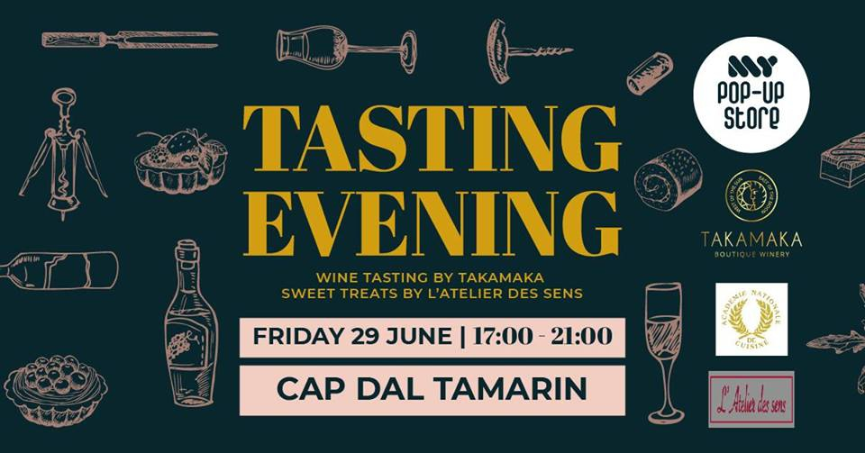 Tasting Evening by MY POP UP STORE