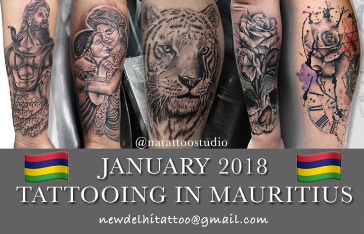 Tattooing in Mauritius - January 2018 - Bookings Open