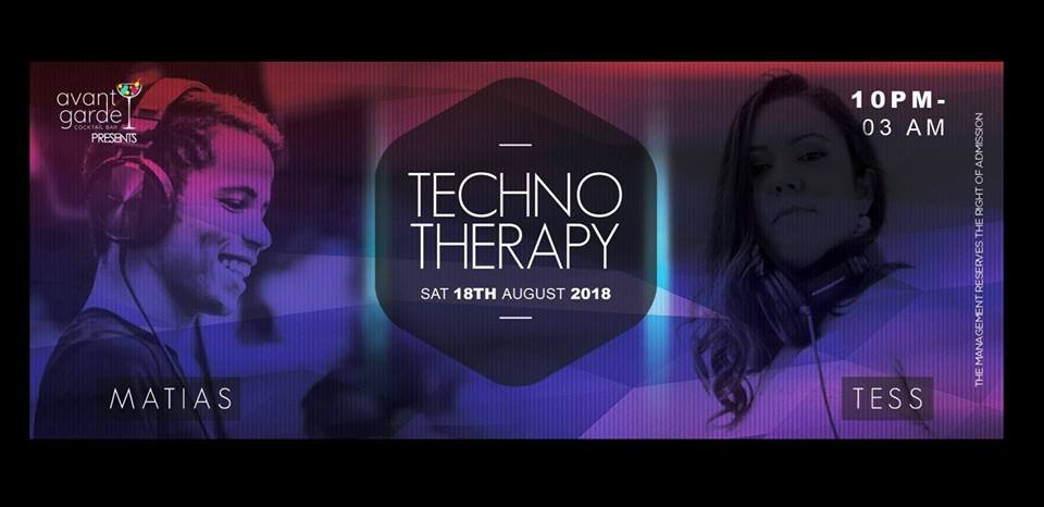 Techno Therapy featuring Matias & Tess at Avant Garde Cocktail Bar