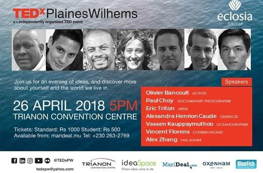 TEDxPlainesWilhems - Unexplored Spaces