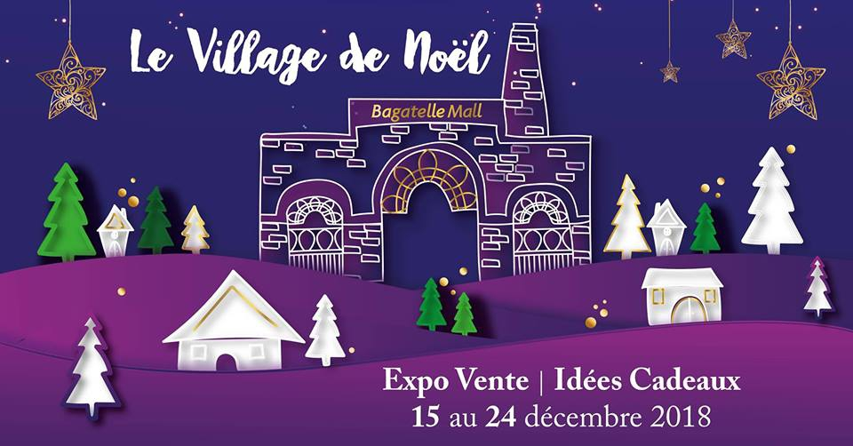 The Christmas Village at Bagatelle Mall