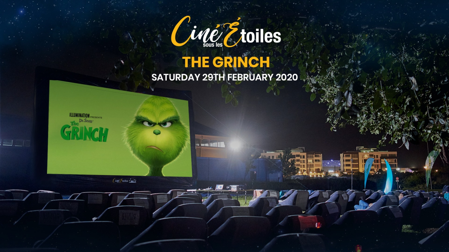 The Grinch - Ciné Sous Les Étoiles (Outdoor Cinema)