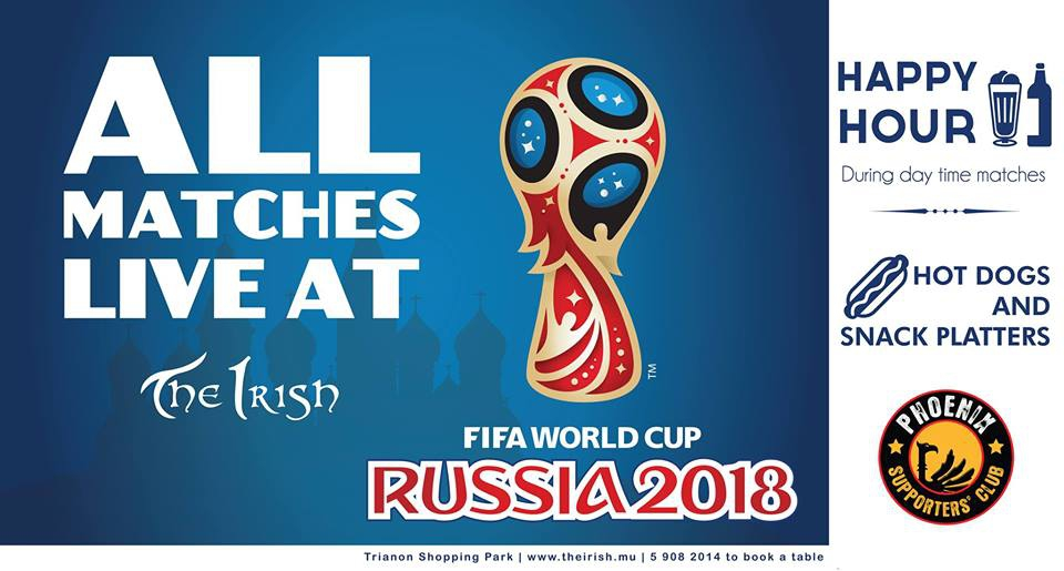 The Irish Live Finals - Fifa World Cup 2018