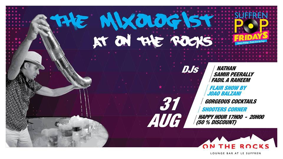 The Mixologist at On The Rocks!
