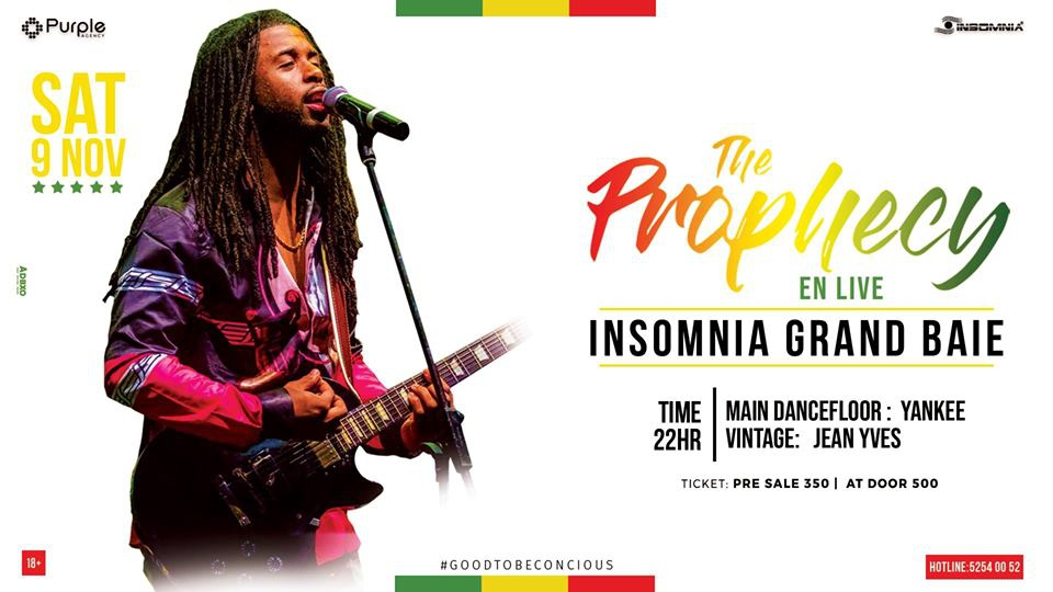 The Prophecy Live at Insomnia 09Nov