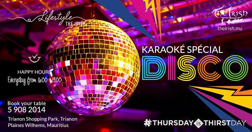 ThursdayIsTHIRSTDAY - DISCO is back! at The Irish