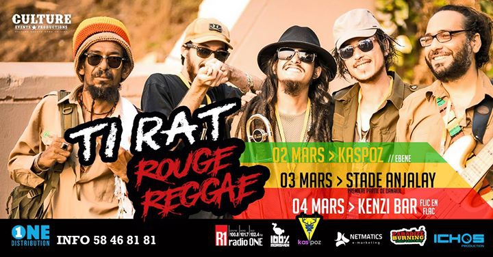 Ti Rat Rouge Reggae A KENZI BAR
