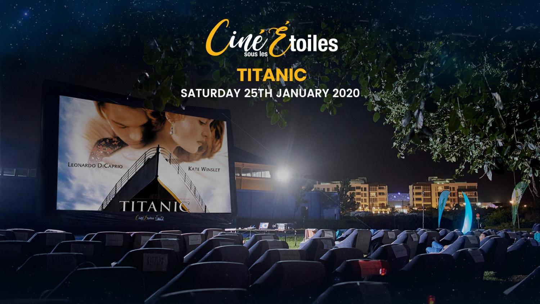 Titanic- Ciné Sous Les Étoiles (Outdoor Cinema)