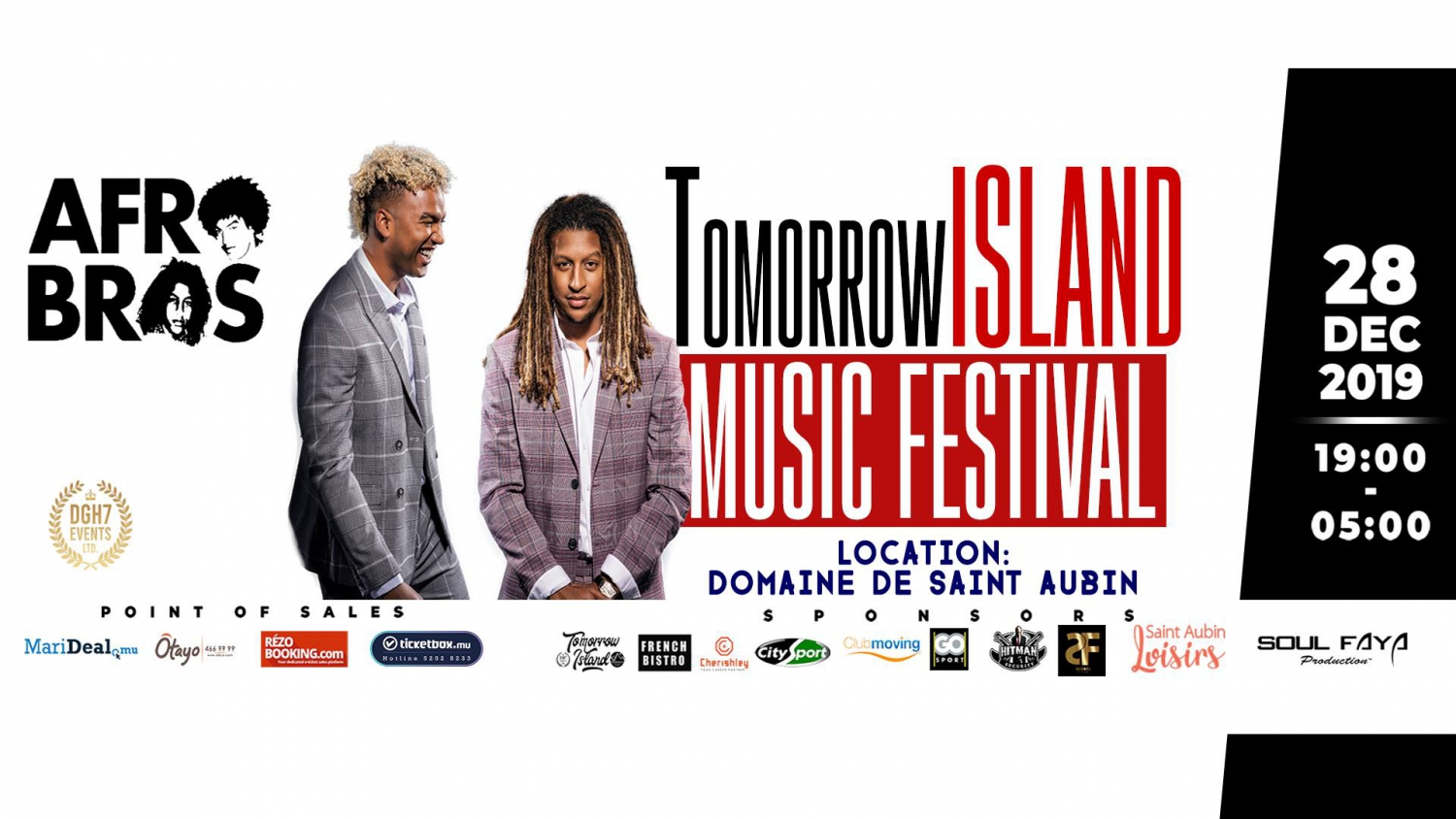 TomorrowISLAND Music Festival 2nd Edition (AFRO BROS)
