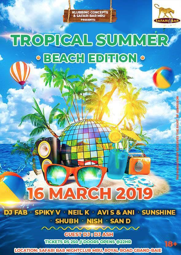 Tropical Summer - BEACH Edition
