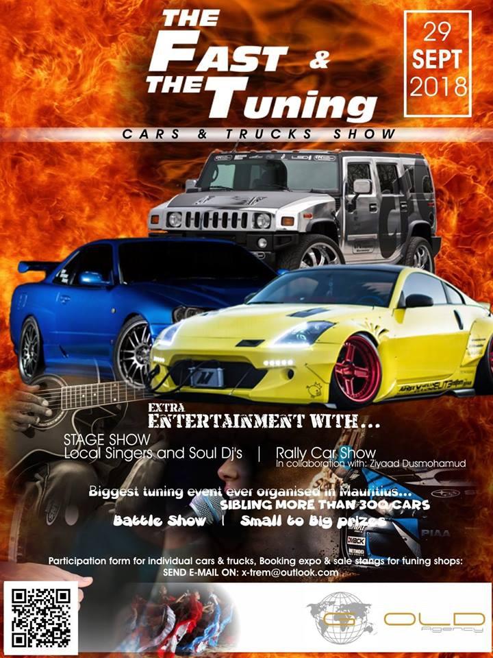 Tuning Show Mauritius
