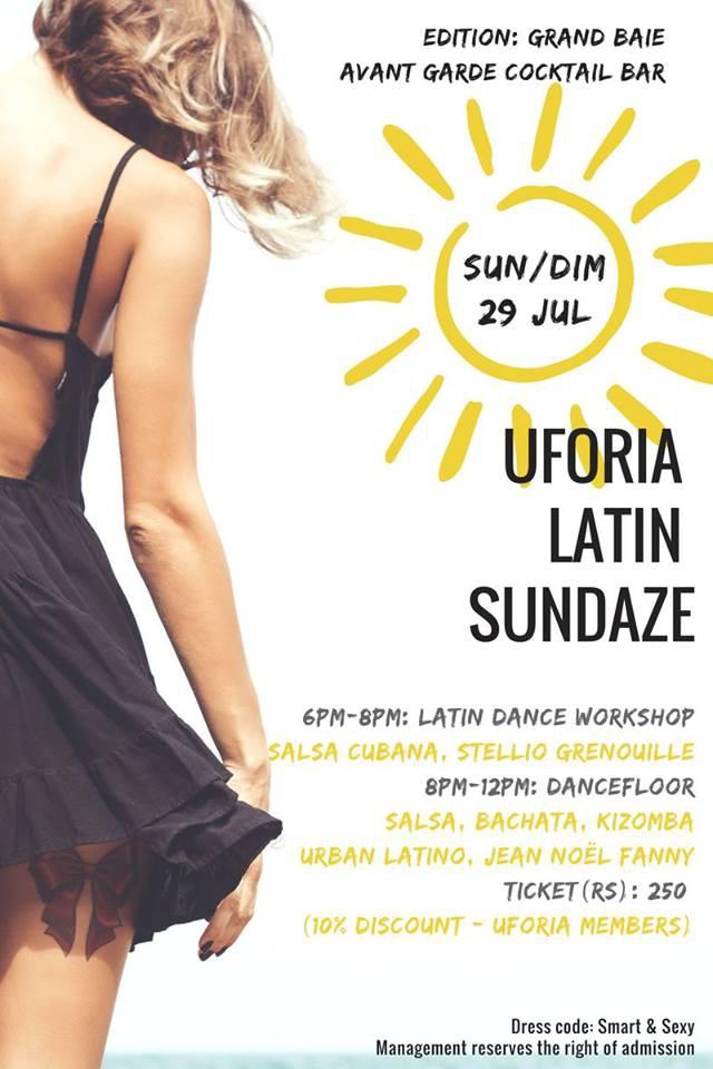 Uforia Latin Sundaze ♫ Avant Garde ♫ Grand Baie