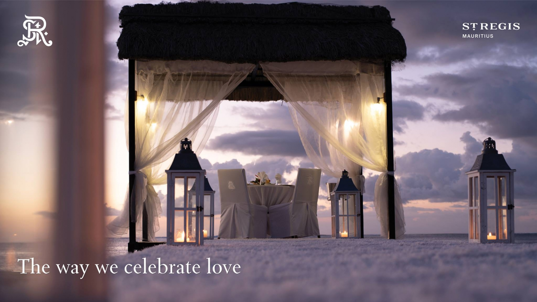 Valentine's Day 2019 at  The St. Regis Mauritius Resort
