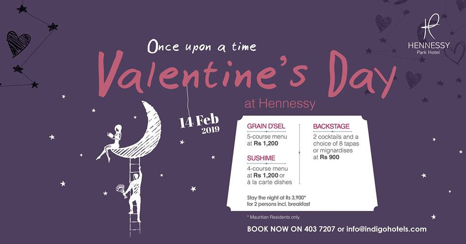 Valentine's Day at Hennessy Park Hotel