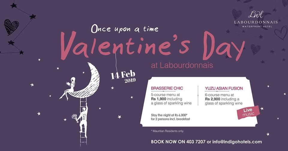 Valentine's Day at Labourdonnais Waterfront Hotel