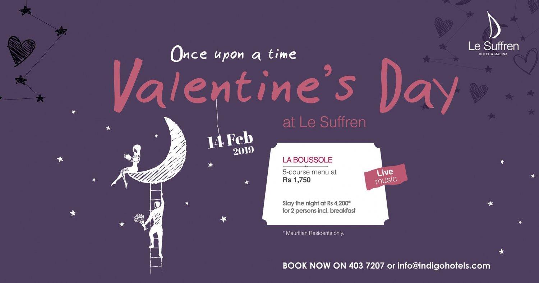 Valentine's Day at Le Suffren Hotel & Marina