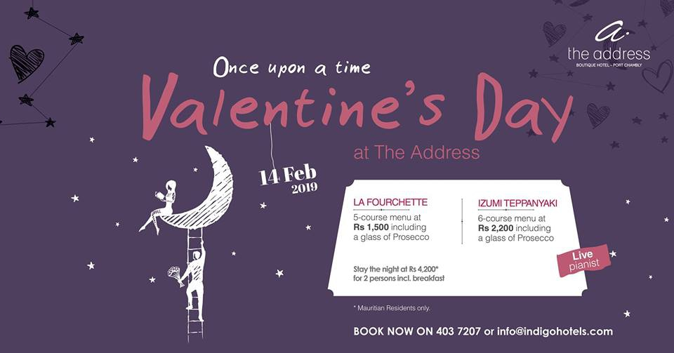 Valentine's Day at The Address Boutique Hotel