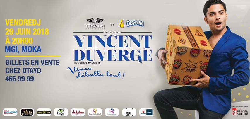 VINCENT DUVERGÉ - ONE MAN SHOW