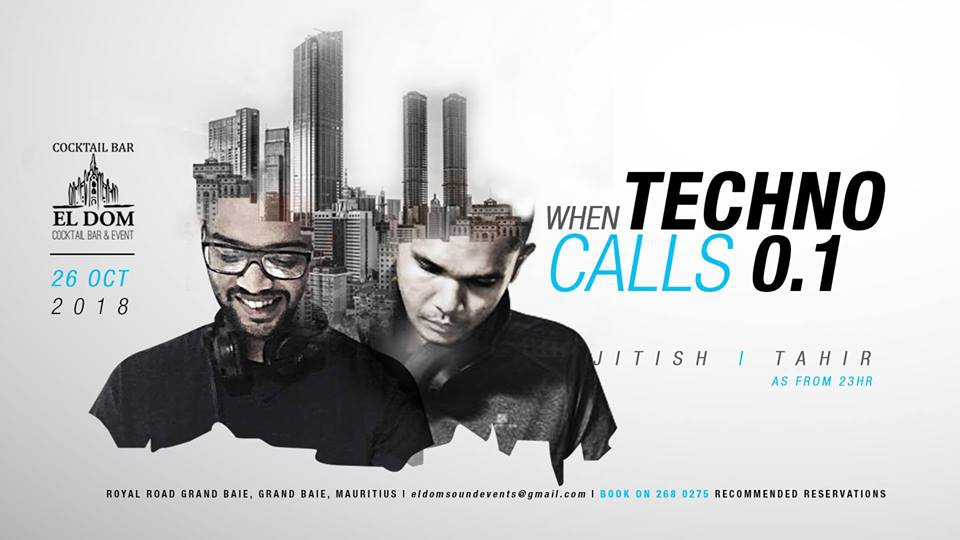 When Techno Call's 0.1 with Jitish & Tahir