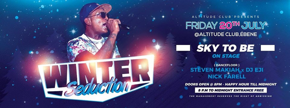 Winter Seduction with SKY To Be at Altitude Club