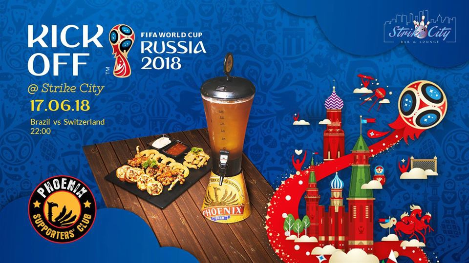 World Cup Kick-Off at Strike City