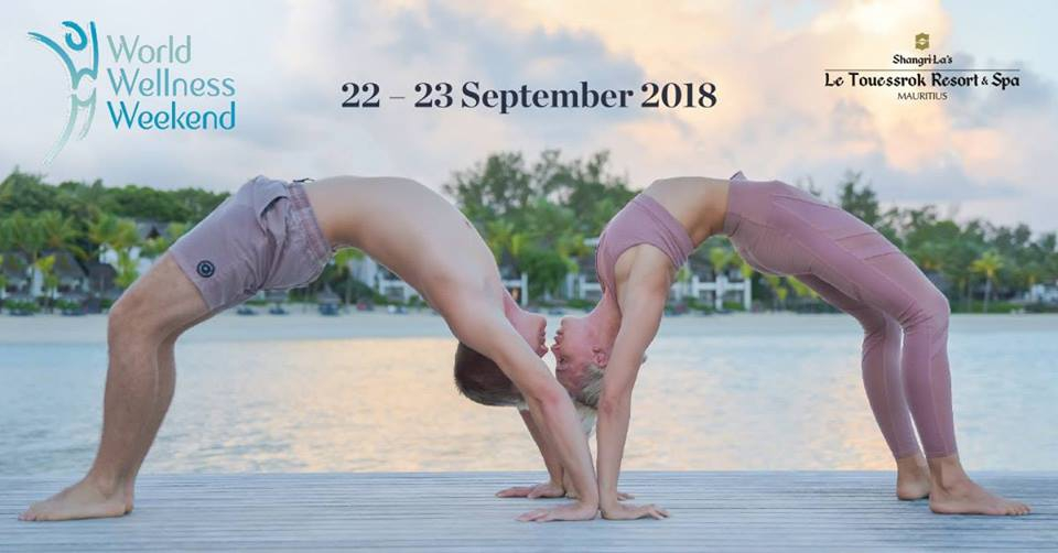 World Wellness Weekend 22-23 September at Shangri-La's Le Touessrok Resort & Spa
