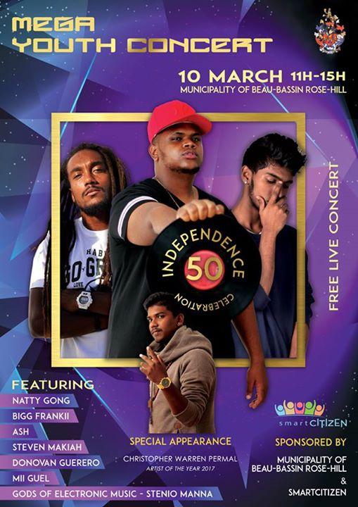 YOUTH Concert Plaza 10 Mars 2k18 ASH BIG Frankii Donovan Guerero