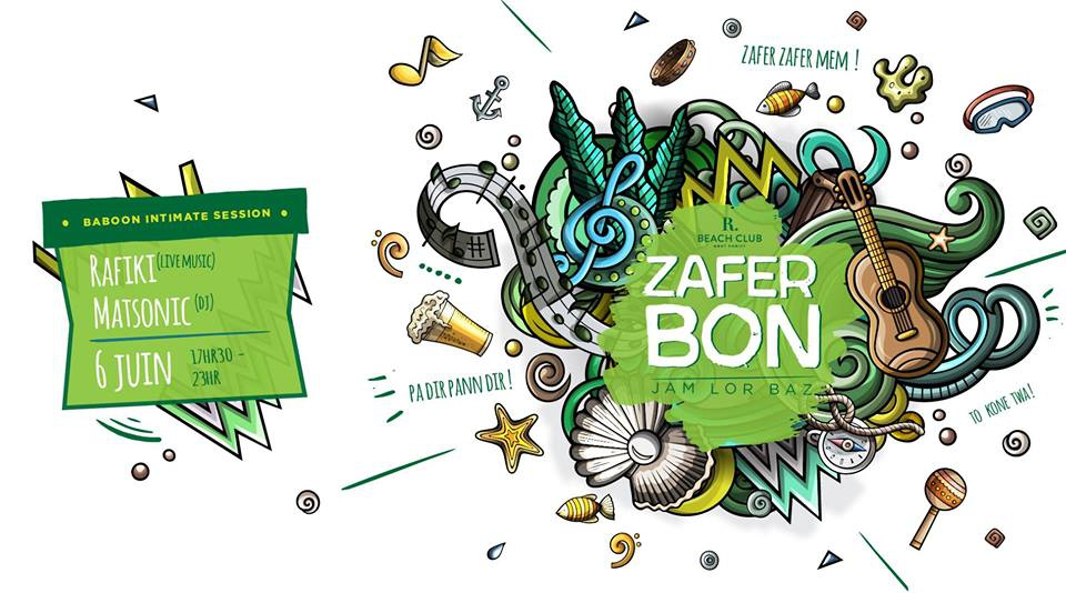 Zafer Bon - Rafiki Intimate Session [Baboon] & Matsonic