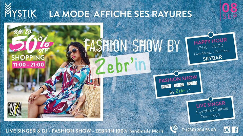 Zebr'in Fashion Show - Private Sales at Mystic Life Style
