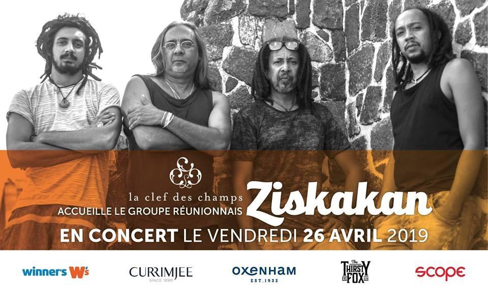 Ziskakan en concert à La Clef des Champs | 26 Avril 2019 |