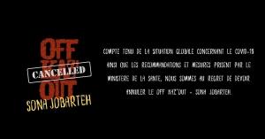 Postponed - OFF Kaz'Out - Sona Jobarteh