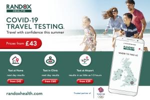 Randox Health Covid Tests for Travel