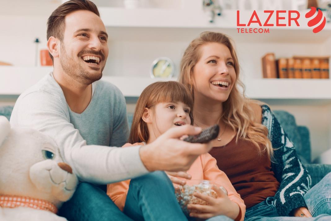 3 months free Netflix with Lazer Telecom