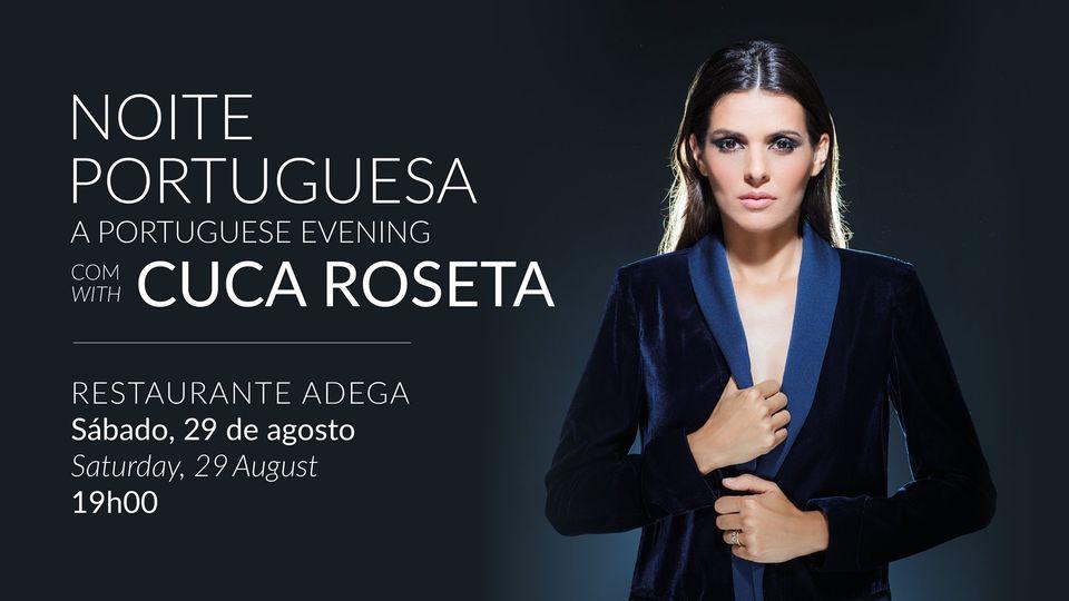 A Portuguese Evening with Cuca Roseta at VILA VITA Parc
