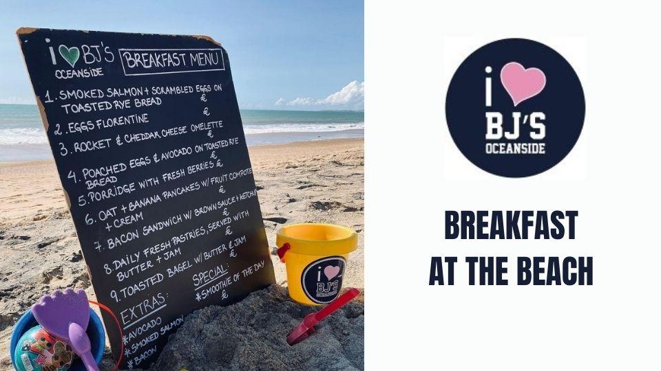 BJs is now open for Breakfast!