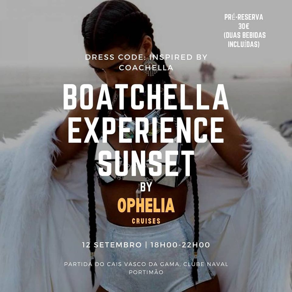 Boatchella Sunset Experience by Ophelia Cruises