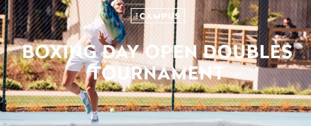 Boxing Day Open Doubles Tennis Tournament