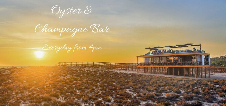 Champagne & Oyster Bar at Parrilla Beach Club